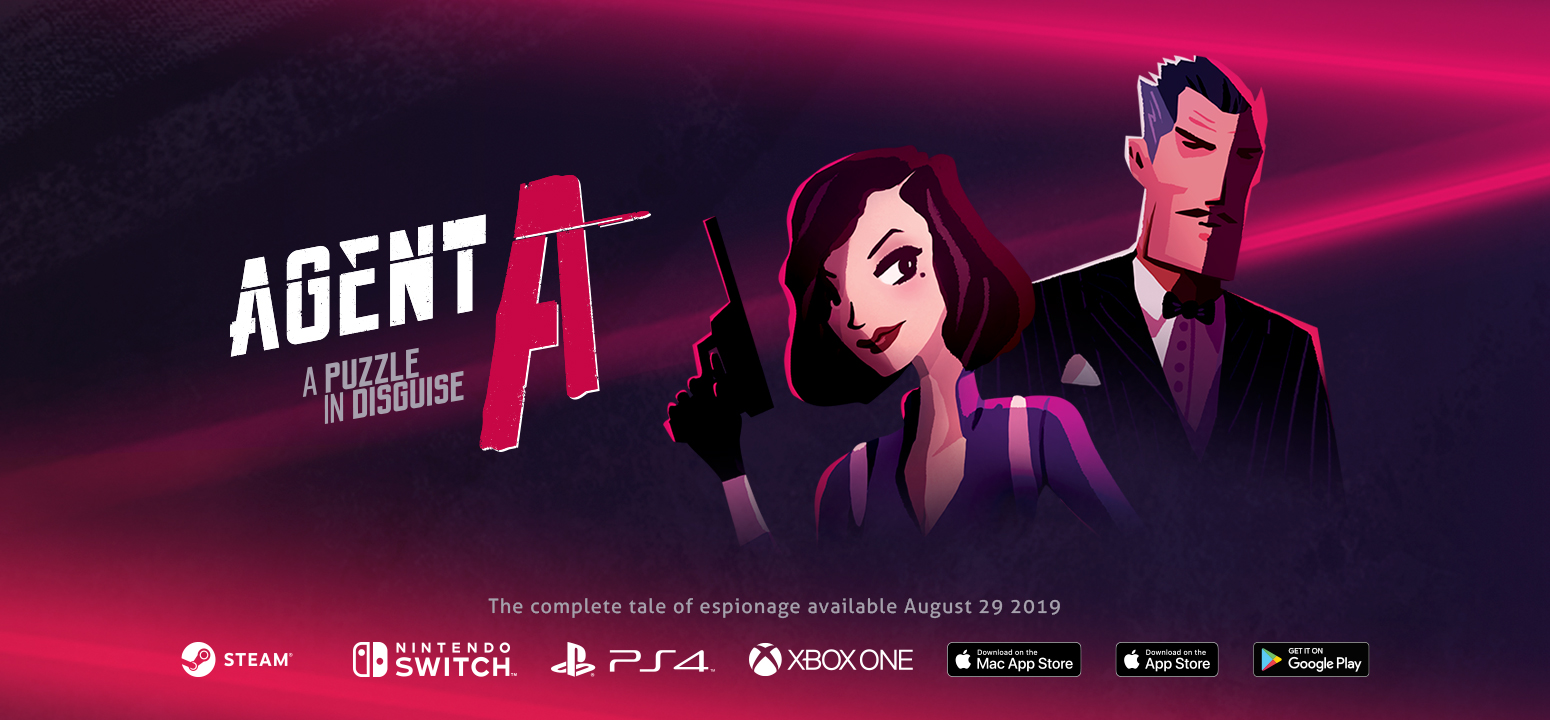Agent A: A puzzle in disguise - Press